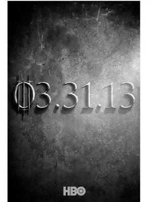 Game of Thrones saison 3 : poster teaser
