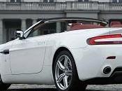 Cabriolet Aston Martin Vantage 2013 riche goût