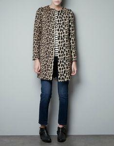 Manteau Zara Femme Manteau Zara Femme Leopard EWQrdCoxBe