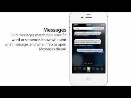 0 Un concept intéressant qui revisite Spotlight sur iOS