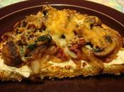 Tartine soir bruschetta champignons