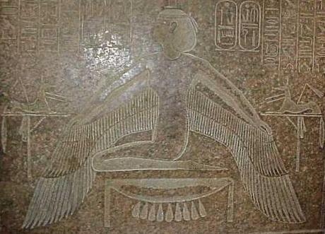 maat, Ramsès III Louvre1995