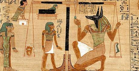 livre des morts d'Ani. Egypt c 1275 BC