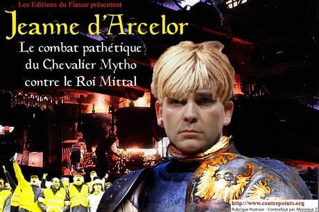Arnaud Montebourg joue la Jeanne d'Arcelor contre Mittal