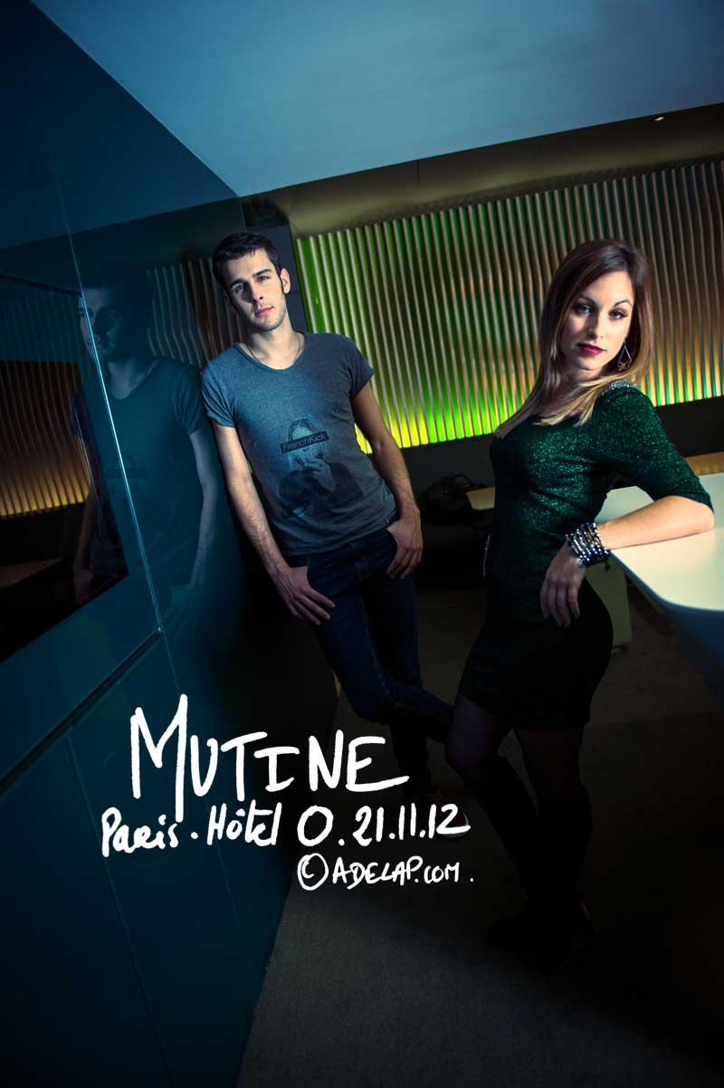 Musique :: Mutine, french electronic pop duo