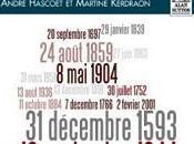 Brest dates d'André Hascoët Martine Kerdraon