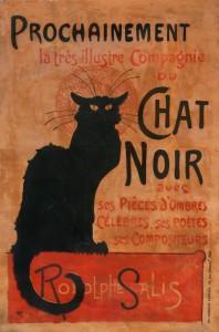 Exposition «Autour du Chat Noir», au musée de Montmartre
