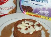 cheesecake Spéculoos Philadelphia Milka sauce Carambars