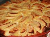 Tarte pommes sans pate
