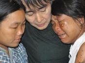 Aung obtient excuses publiques police birmane après interviention violente contre manifestants