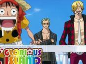 L'anime Piece Glorious Island, Publicité Vidéo