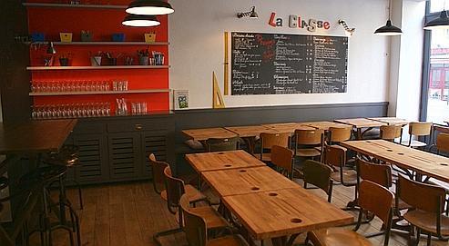 visite d co le restaurant la classe paperblog. Black Bedroom Furniture Sets. Home Design Ideas