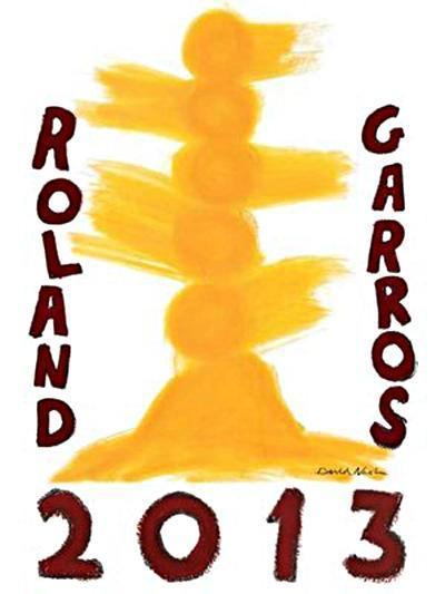L'affiche de Roland Garros 2013 dévoilée