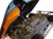 Porsche réplique renferme circuit Mans