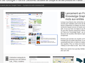 Amoureuse nouveau template blog officiel Google France