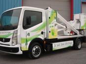 camion-nacelle 100% électrique pour ville Lyon