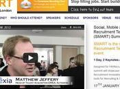 Premier SMART Summit Londres Janvier 2013 événement dédié technologies recrutement