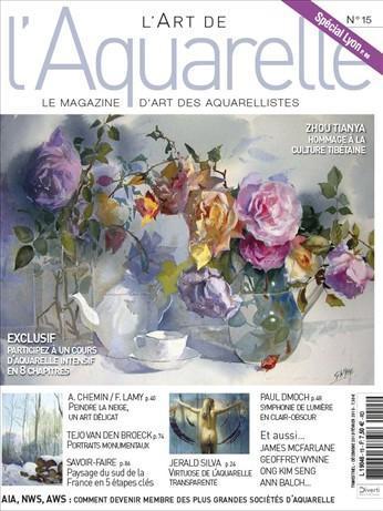 L'Art de l'Aquarelle n° 15