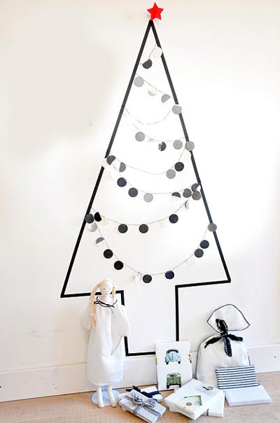 35 idées déco pour un joli sapin de Noël homemade et sans épine !