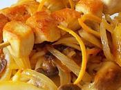 Brochettes poulet l'orange Recettes sucré-salé