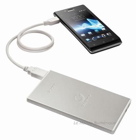 Sony lance un chargeur de secours USB pour smartphones