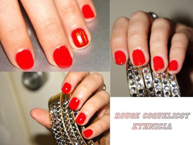 Bien connu Ongles) Vernis Rouge Coquelicot, Ethnicia - Paperblog IZ72