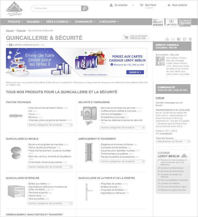 Leroy merlin campagne cartes cadeaux no l paperblog - Carte fidelite leroy merlin gratuite ...