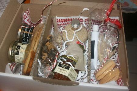 Le panier gourmand de Noël 2012   À Découvrir