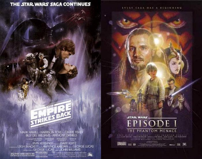 Affiches de Star Wars