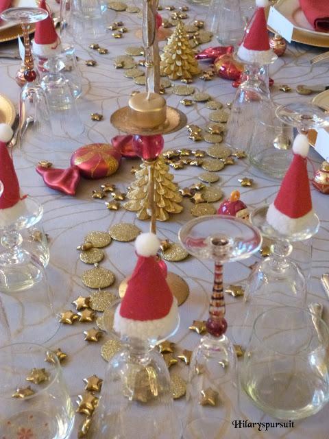 Spécial Fêtes Table De Noël D Or Ou Table De Noël D Argent
