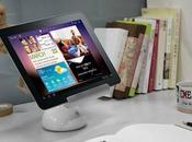 iLight Bracket, lampe bureau support pour tablettes tactiles