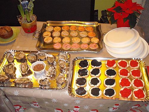 Repas du réveillon de Noël 2012   Paperblog