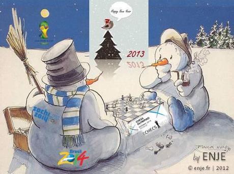 Bonne année . . . 2014 !