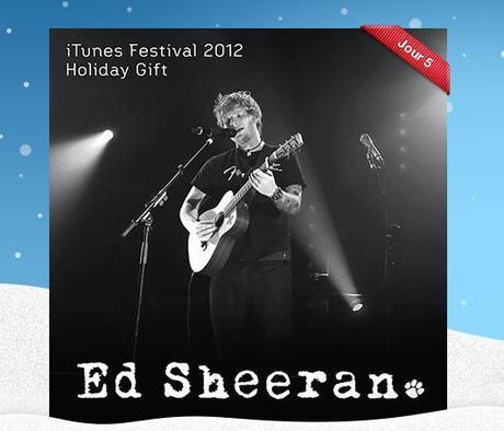 12 Jours de cadeaux pour votre iPhone ou iPad: Jour 5, Ed Sheeran..
