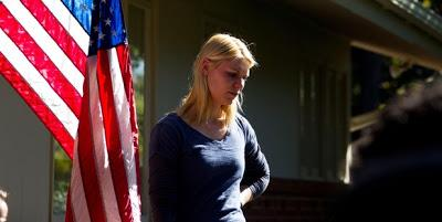 Carrie Mathison, Claire Danes, Homeland, Flag, america, Season 1, Marine One