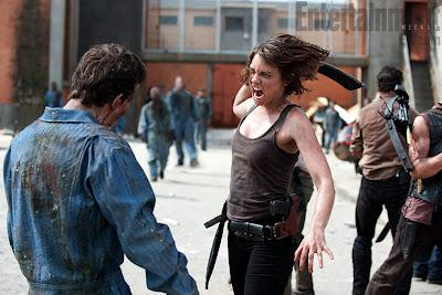 AMC, The Walking Dead, season 3, promo, maggie, prison