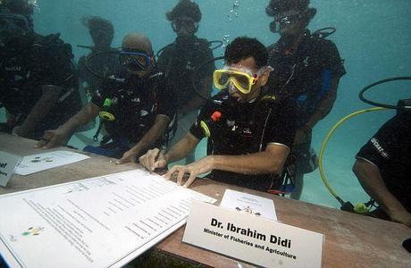 Changement climatique : la submersion des Maldives