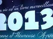 Bonne année 2013....