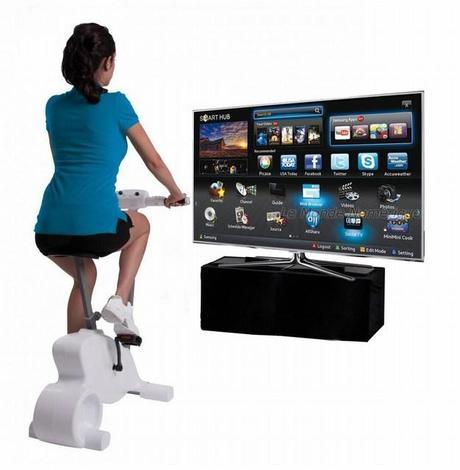 CES 2013 : Le Cyberbike de Bigben Interactive compatible avec les TV connectées Samsung
