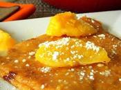 recette crêpes sans oeufs sauce l'orange