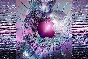 Un écran cassé en fond d'écran pour votre iPhone 5... | À Voir