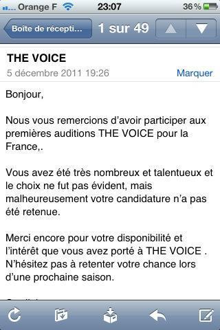 Daniel Loeillot - The Voice