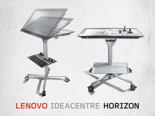 CES 2013 : Lenovo revisite la table Surface avec le PC IdeaCentre Horizon