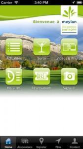 Une appli mobile pour Meylan