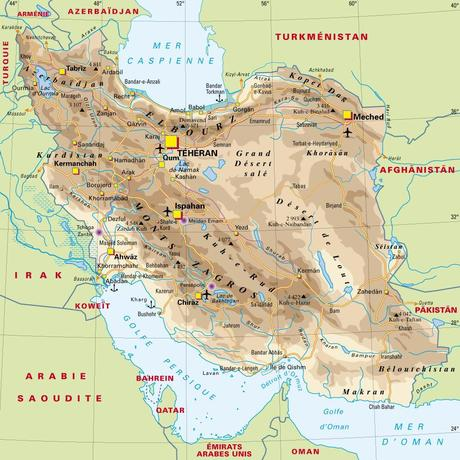 Iran : l'isthme asiatique