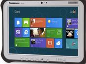 Panasonic annonce tablette Toughpad FZ-G1
