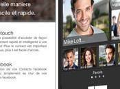 FaceTouch Contacts L'accès contacts iPhone revisité