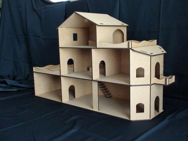 plan de maison playmobil en bois ventana blog. Black Bedroom Furniture Sets. Home Design Ideas