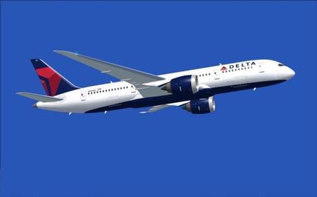 L'application iPad Fly Delta propose un « vol transparent »...