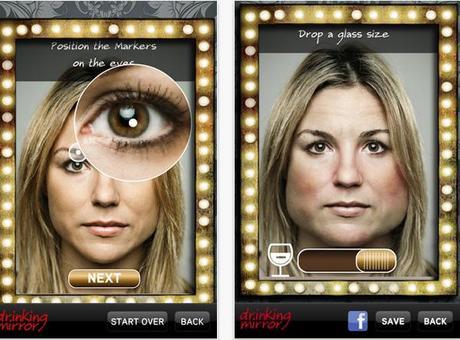 Une application simule les effets de l'alcool sur votre visage